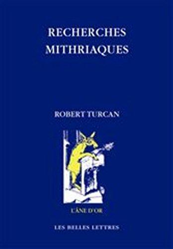 Recherches mithriaques