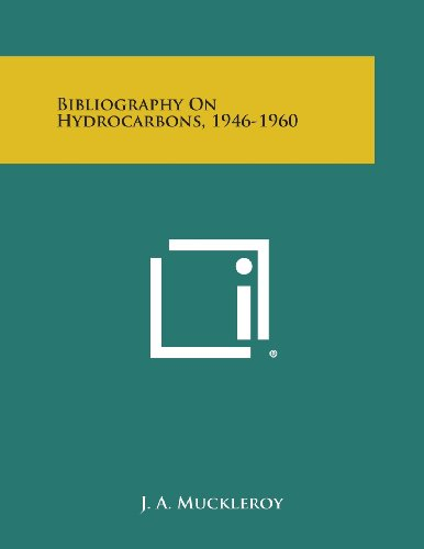 Bibliography on Hydrocarbons, 1946-1960