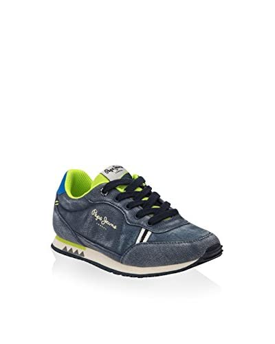 Pepe Jeans Sneaker Sydney Canvas  [Blu Washed]