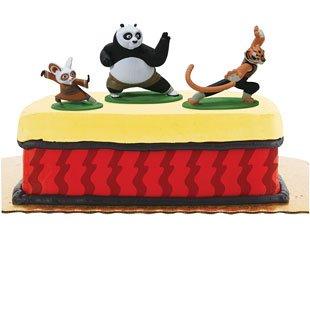 Kung Fu Panda Cake Toppers