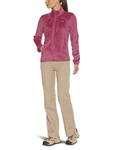 Patagonia W'S R2 Jacket Veste polaire femme Rubellite Pink M