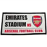 Arsenal Crested Emirates Stadium N5 Bath Towel 100% Cotton