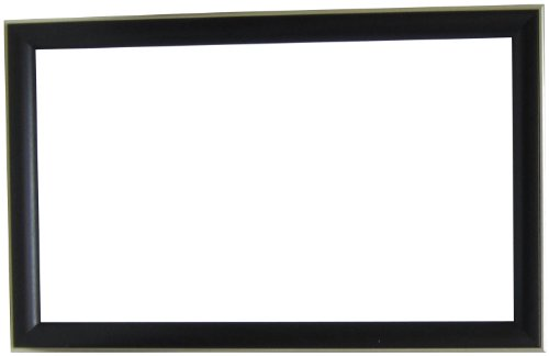 Alpine Art & Mirror 78232A Forest Grained Framed Wall Mirror, 25.5 by 40.5-Inch, Black