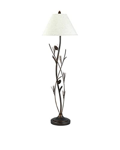 Bristol Park Lighting Pinecone Floor Lamp, Willow As You See