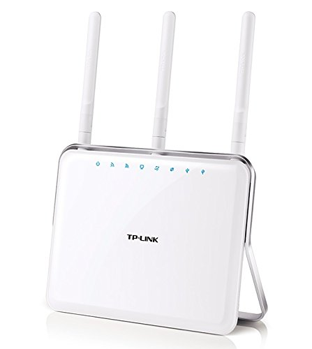 TP-LINK Archer C9 AC1900 Dual Band Wireless AC Gigabit Router, 2.4GHz 600Mbps+5Ghz 1300Mbps, Beamforming, 1 USB 2.0 Port & 1 USB 3.0 Port, IPv6, Guest Network