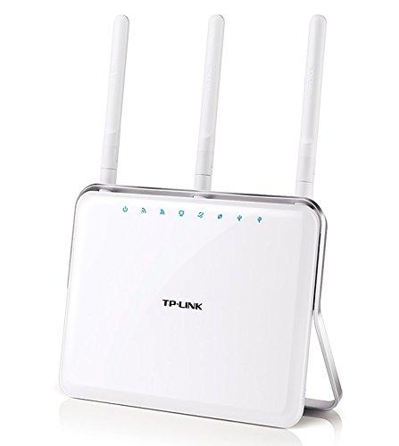 TP-LINK Archer C9 AC1900 Dual Band Wireless AC Gigabit Router, 2.4GHz 600Mbps+5Ghz 1300Mbps, 1 USB 2.0 Port & 1 USB 3.0 Port, IPv6, Guest Network