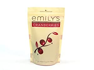 Emily's Dark Chocolate Covered Cranberries 5oz
