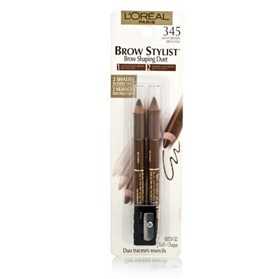 L'Oreal Paris Brow Stylist Custom Brow Shaping Pencil, 0.56 Ounce