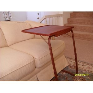 Tv Tray Tables Cheap Table Mate Ii Woodgrain Folding