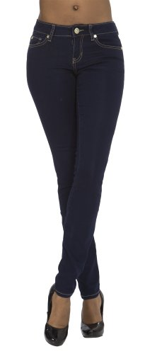 (BA14-1407) Baby Phat Hot Skinny Jeans With Stone Back Pocket (3-24) in Dark Rinse Size: 13/14 (Baby Phat Pants compare prices)