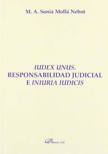 iudex-unus-responsabilidad-judicial-e-iniuria-iudicis-monografias-de-derecho-romano-derecho-publico-