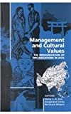 img - for Management and Cultural Values book / textbook / text book