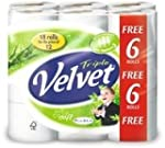 Triple Velvet Toilet Roll Pack of 18...