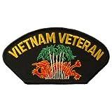 US Military Vietnam War Iron On Patch - Vietnam Veterans - Jungle Applique