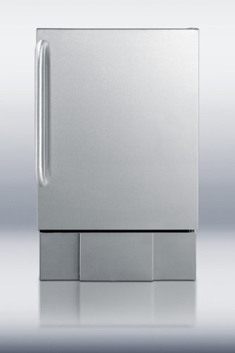 Summit Summit Bim240S Under Counter Ice Maker, Stainless Steel