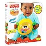 Fisher Price Go Baby Go! Shake & Chime Ducky Ball