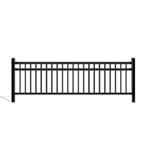 Seattle Fencing Wrought Iron Deck Fence Railing 5 Ft