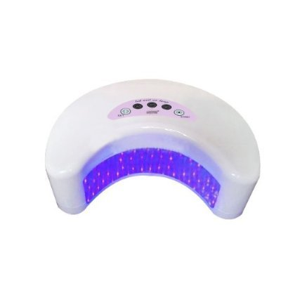 Excelvan 12W Led Nail Gel Cure Lamp Harmony Shellac Uv Dryer White Color