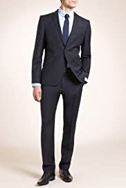 Limited Collection Slim Fit Wool Rich 1 Button Suit [T15-1175-S/T15-1176-S]