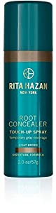Rita Hazan Root Concealer Touch Up Spray, Light Brown, 2 Fluid Ounce