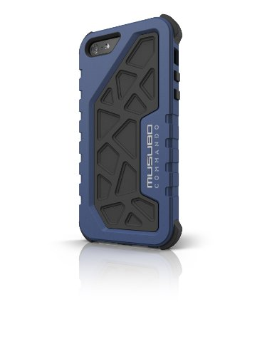 Best Price Musubo MU11027BE Musubo Commando Protective Case for iPhone 5 - Blue - Carrying Case - Retail Packaging - Blue