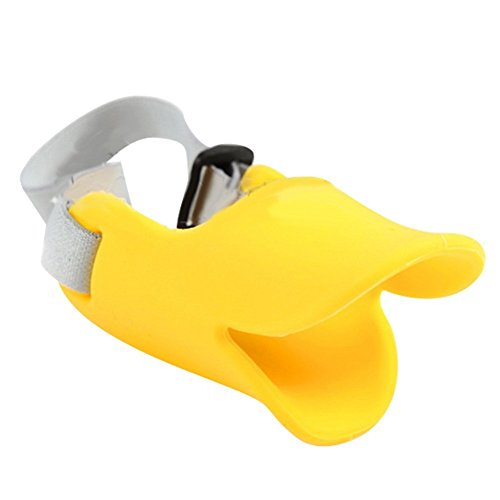 Sukragraha anti bite duck mouth shape dog mouth covers for Dog proof material