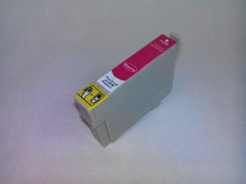 NON-OEM 1 Epson Kompatible Tintenpatrone T071, T0713 Magenta für Druker STYLUS D120, D78, D92, DX400, DX4000, DX4050, DX4400, DX4450, DX5000, DX5050, DX5500, DX6000, DX6050, DX7000F, DX7400, DX7450, DX8400, DX8450, DX9200, DX9400F, DX9400F WIFI EDITION, OFFICE B40W, OFFICE BX300F, OFFICE BX310FN, OFFICE BX510W, OFFICE BX600FW, OFFICE BX610BFW, S20, S21, SX100, SX105, SX110, SX115, SX200, SX205, SX210, SX215, SX218, SX400, SX400 WIFI, SX405, SX405 WIFI, SX410, SX415, SX417, SX510W, SX515W, SX600F