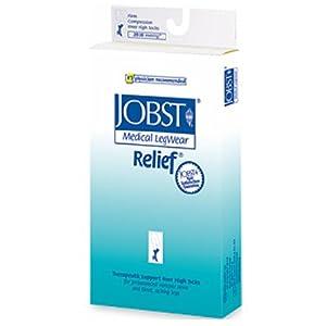 Jobst Relief Medical Legwear, Thigh High Open Toe - 30-40 mmHg, Size: XLarge by Rolyn Prest