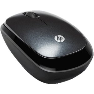 Hewlett-Packard Hp Retractable Laptop Mouse, Black front-1025042