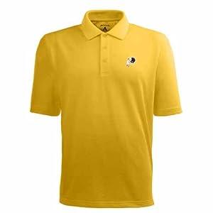 Washington Redskins Pique Xtra Lite Polo Shirt (Alternate Color) by Antigua