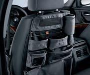 Bmw Backrest Storage Pocket 52120410752 Genuine Factory Oem 2006 - 2011 from BMW Factory OEM