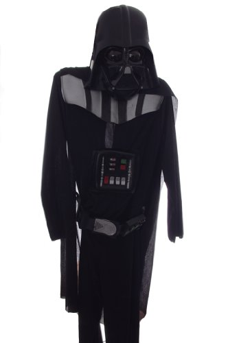Darth Vader Deluxe Costume Full Suit and Mask Medium Size 8