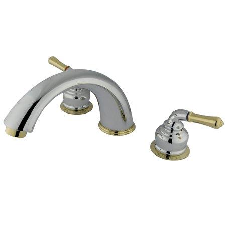 Kingston Brass Chrome Roman Tub Faucet KS2361BL