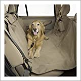 Duragear Pet Travel Hammock Dog Car Seat Cover-Fleece Sand
