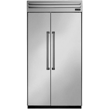 Thermador T42BR820NS 42 in. Built-In Side by Side Stainless Steel, Professional Residential, With Internal Ice-Maker (42 Thermador Refrigerator compare prices)
