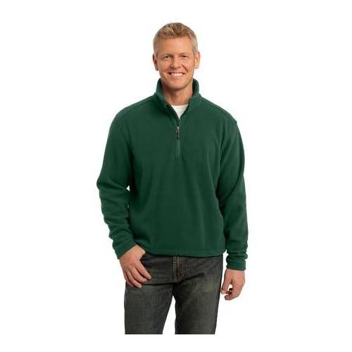 Port Authority Mens Comfort 1/4-Zip Fleece Pullover, Forest Green, XX-Large sale off 2015
