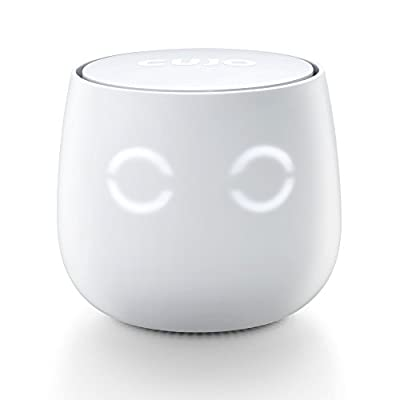 CUJO Smart Internet Security Firewall - Protects Your Network from Malware, Viruses and Hacking / For Home & Business / iOS & Android App / Plug into Your Router