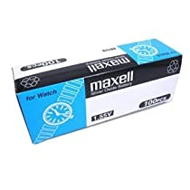 100pcs Maxell SR416SW 1.55V Silver Oxide Battery (Box Set)