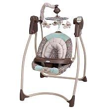 Graco Lovin' Hug Plug-In Infant Swing - Capri