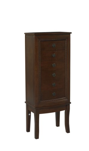 Linon Home Decor Molly Jewelry Armoire Your 1 Source