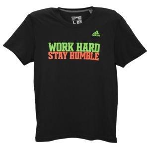 Robert Griffin III Adidas Black Work Hard Stay Humble T-Shirt (Size X-Large)
