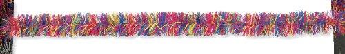 Creative Converting Fringe Party Decor Garland, Multicolor Bright - 1