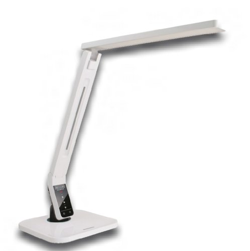 softech natural light led multi function desk lamp white on sale 2012. Black Bedroom Furniture Sets. Home Design Ideas