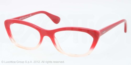 prada Prada PR03QV Eyeglasses-PDO/1O1 Red Gradient Pink-52mm