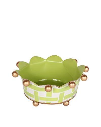 Jayes Basketweave Coaster, Green