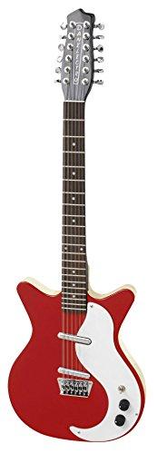 Danelectro Original Factory Spec 1959 Reissue Electric Guitar - 12 String red