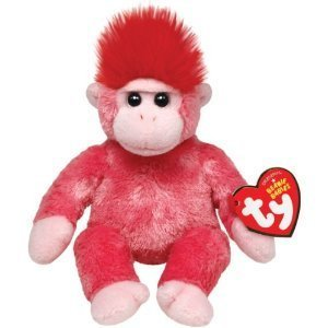 Ty Beanie Babies Charmer The Gorilla 7""