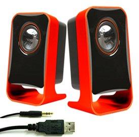 Multimedia USB Lautsprecher für Computer YM9
