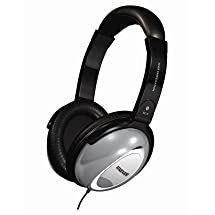 Maxell Noise Cancelling Headphones Collapsible design 30mm drivers 6ft single entry cord