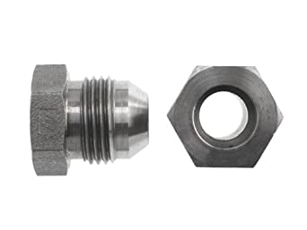 "Brennan 0403-16-16-SS, Stainless Steel JIC Tube Fitting, 16Bore-16MJ Coupler, 1"" Tube OD"
